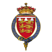 Coat of Arms of Sir John Mowbray, 5th Earl of Norfolk, KG.png