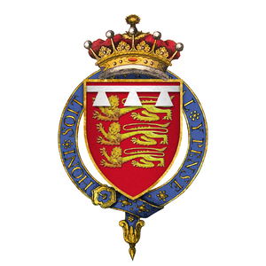 John de Mowbray, 2nd Duke of Norfolk - Image: Coat of Arms of Sir John Mowbray, 5th Earl of Norfolk, KG