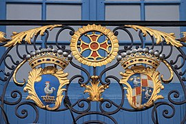 Coats of arms, balcony of Capitole of Toulouse 16.JPG