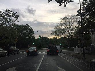 Walnut Street (Philadelphia) - Cobbs Creek at end of Walnut Street