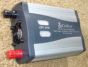 Cobra CPI-475 DC-to-AC power inverter, 400 wat...