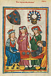 Codex Manesse 305r Der tugendhafte Schreiber.jpg