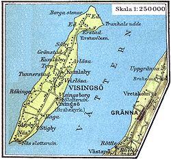 visingsö karta Visingsö – Wikipedia visingsö karta