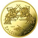 Coin commemorating the 600th anniversary of the Žalgiris Battle Reversum.jpg