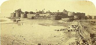Kolaba Fort - Image: Colaba Fort, 1855