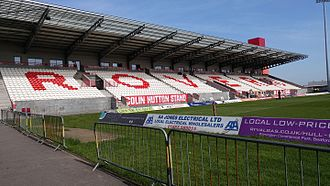 Craven Park, Hull - Colin Hutton North Stand.