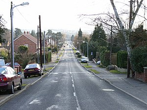 College Town, Berkshire - Image: College Road, College Town geograph.org.uk 121608