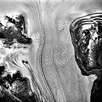 Columbia Glacier, Valley Glacier and Distributary, August 22, 1987 (GLACIERS 1409).jpg
