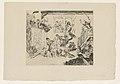 Combat of The Rascals Désir et Rissolé, print by James Ensor, 1888, Prints Department, Royal Library of Belgium, S. II 63744.jpg