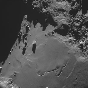 Comet 67P on 18 October 2014a NavCam A.jpg