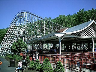 The Comet (Great Escape) roller coaster