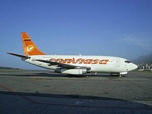 Conviasa - A former Conviasa Boeing 737-200