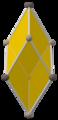 Concertina tesseract cell; trigonal trapezohedron, upper.png
