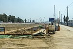 Construction site of Beijing-Xiong'an Intercity Railway at Lixian (20180504125332).jpg