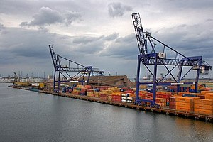Container Terminal, Teesport - geograph.org.uk - 1453170.jpg