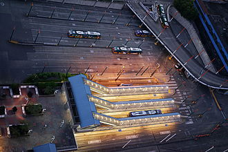 Convention Place station - Image: Conventionplacestati on 2