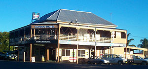 Coraki, New South Wales - The Coraki Hotel on Richmond Terrace, Coraki's main street
