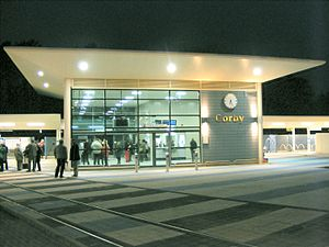 Corby railway station - Image: Corby railway station 23 February 2009