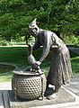 Cormorant Fisherman, a gift of Gifu, Japan - Eden Park, Cincinnati - DSC03898.JPG