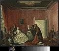 Cornelis Troost - De 'Spilpenning', 3de bedrijf, 5e toneel uit het gelijknamige toneelstuk van Thomas Asselijn - BR2102 - Rijksmuseum Twenthe.jpg