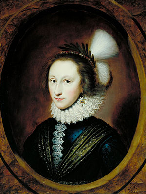 Martin Lister - Lister's mother, Susan (or Susanna) Temple, later Lady Lister (1620), by Cornelius Johnson.
