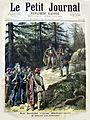 Corse Antoine Bellacoscia, reddition du bandit corse en 1883.jpg