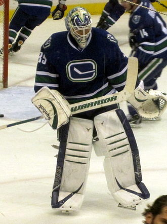 Cory Schneider - Schneider with the Canucks in January 2012