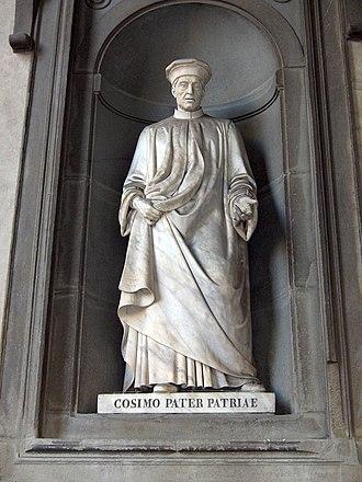 Loggiato of the Uffizi - Image: Cosimo