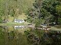Cottage at Loch an Eilein - geograph.org.uk - 266051.jpg