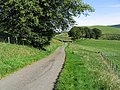 Country road east of Hazelbank Hill - geograph.org.uk - 543433.jpg