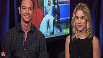 Hindsight (TV series) - Craig Horner and Laura Ramsey discuss Hindsight in 2015