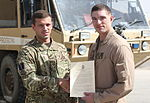 Crash Fire Rescue Marines recognized by Royal Air Force in Helmand province, Afghanistan 140617-M-XX123-0007.jpg