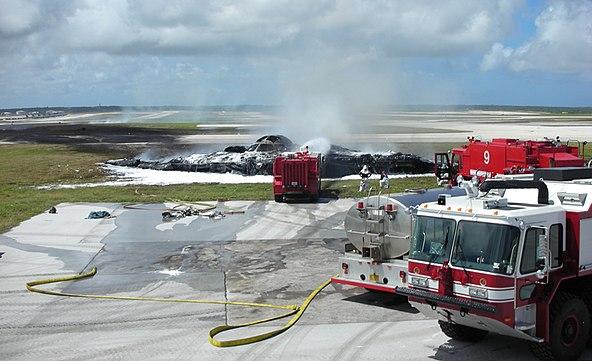 Crashed B-2