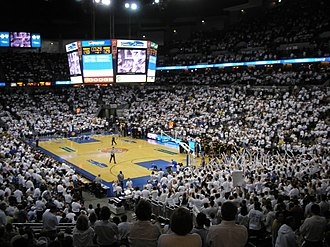 Creighton University - Creighton men's basketball home game, CHI Health Center Omaha