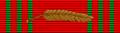Croix de Guerre 1940-1945 with palm (Belgium) - ribbon bar.png