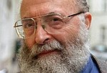 Cropped photograph of American author and rabbi Chaim Potok (1929-2002), taken in 1998.jpg