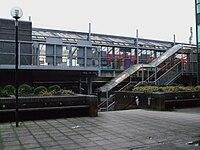 Crossharbour DLR stn western entrance.JPG