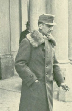 Ottokar Czernin - Count von Czernin at Laxenburg in 1918