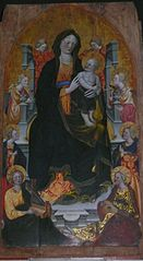 The Virgin with Child and Angels Musicians