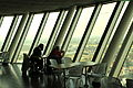 Düsseldorf - Parlamentsufer - Rheinturm in 05 ies.jpg