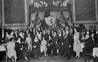 Düsseldorfer Automobil- und Motorsport-Club 05 - 25th anniversary 1930