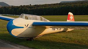 DFS Kranich - Fuselage of a DFS Kranich II-B1 built in 1938