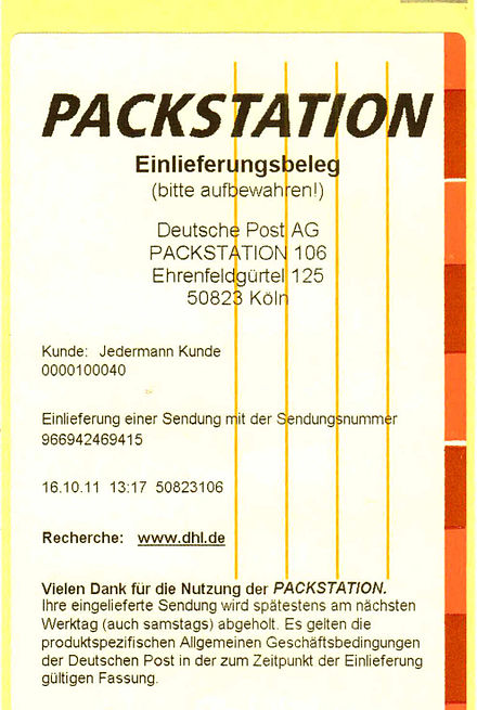 Packstation Karte Gesperrt.Packstation Wikiwand