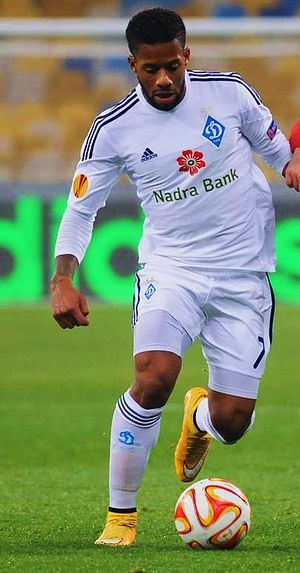 Jeremain Lens - Lens playing for Dynamo Kyiv in 2014