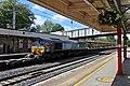 DRS Class 66, 66305, Lancaster railway station (geograph 4499820).jpg