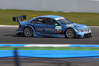 Jamie Green - Green finished third at the DTM season-opener at Hockenheim in 2010.