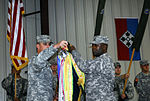 Dagger Brigade replaces Strike Brigade during Transfer of Authority ceremony DVIDS130219.jpg