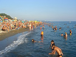 Beaches in Sochi‎