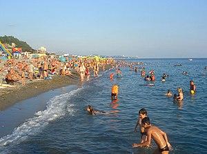 Небуг фото пляжа и набережной