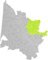 Daignac (Gironde) dans son Arrondissement.png